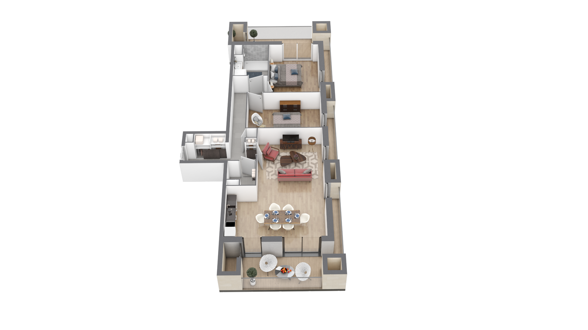 appartement A107 de type T3