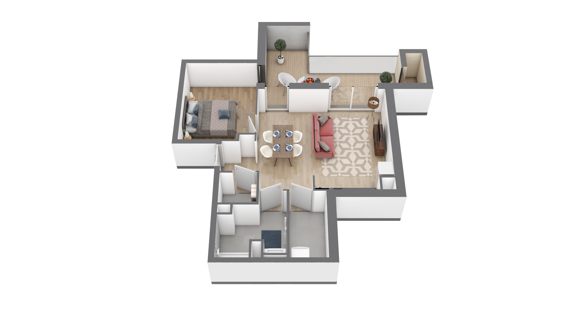 appartement A204 de type T2
