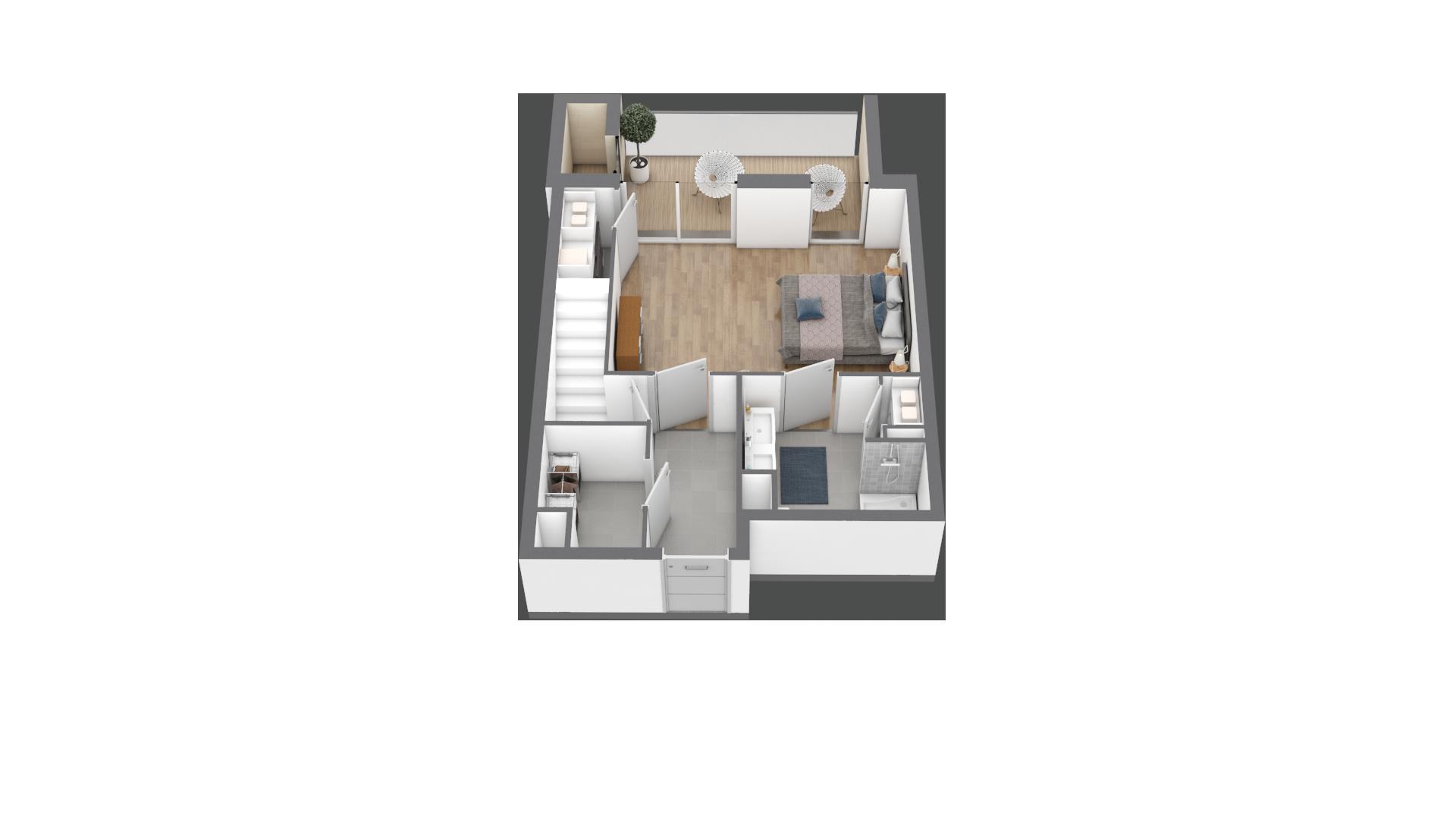 appartement B302 de type T5